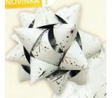 Nekupto Hvězdice střední luxus bílá se stříbrnými detaily HV 216 02