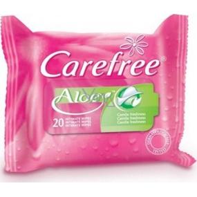 Carefree Aloe Vera ubrousky pro intimní hygienu 20 kusů