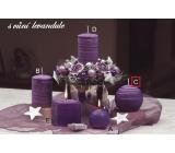 Lima Wellness Levandule aroma svíčka koule průměr 80 mm 1 kus