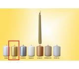 Lima Svíčka hladká metal zlatá kužel 22 x 250 mm 1 kus