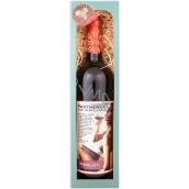 Bohemia Gifts Merlot Partnerka pro večer červené dárkové víno 750 ml