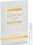 Boucheron Quatre Femme parfümiertes Wasser 2 ml mit Spray, Fläschchen