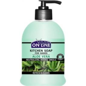 On Line Kitchen Soap Aloe Vera kuchyňské tekuté mýdlo dávkovač 500 ml