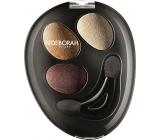 Deborah Milano Trio Hi-Tech Eyeshadow oční stíny 02 Goddess Bronze 4,2 g