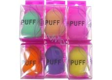 Puff Powder Houbička na make-up hruška 5,5 x 4 cm 1 kus 882