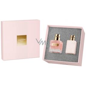 Valentino Donna parfémovaná voda pro ženy 50 ml + tělové mléko 100 ml, dárková sada