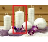 Lima Galaxy svíčka bílá válec 70 x 150 mm 1 kus