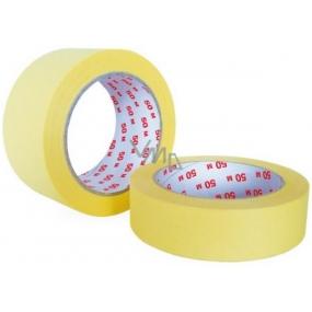 Perdix Zakrývací páska do 60 stupňů 50 mm x 50 m krepová