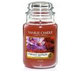 Yankee Candle Vibrant Saffron vonná svíčka Classic velká sklo 623 g