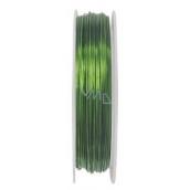 Vázací drátek zelený, 20 m