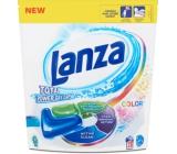 Lanza Total Power Color gelové kapsle na praní barevného prádla 28 kusů