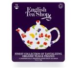 English Tea Shop Bio Prémiová kolekce ovocných a bylinkových čajů  72 kusů bioodbouratelných nálevových sáčků, 9 příchutí, 108 g, dárková kazeta
