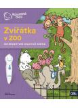 Albi Kúzelné čítanie interaktívne hovoriace kniha Zvieratká v ZOO