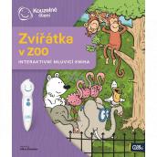 Albi Kouzelné čtení interaktivní mluvící kniha Zvířátka v ZOO, věk 2+