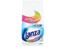Lanza Fresh & Clean Color prací prášek na barevné prádlo zachovává intenzitu barev, s příjemnou vůní 90 dávek 6,3 kg