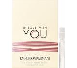 Giorgio Armani Emporio In Love with You parfémovaná voda pro ženy 1,2 ml s rozprašovačem, Vialka