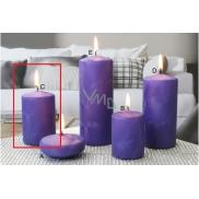 Lima Ledová svíčka fialová válec 60 x 90 mm 1 kus