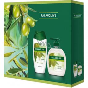 Palmolive Naturals Olive & Milk sprchový krém 250 ml + Olive & Milk tekuté mýdlo dávkovač 300 ml, kosmetická sada