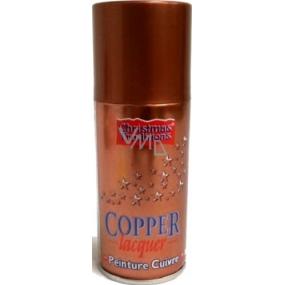 Christmas Traditions Copper Lacquer metalický dekorační lak ve spreji Měděný 150 ml