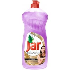 Jar DermaProtect Silk & Orchid Prostředek na ruční mytí nádobí 750 ml