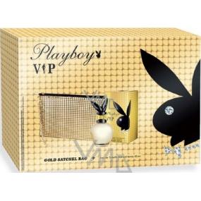 Playboy Vip for Her toaletní voda 30 ml + zlatá kabelka, dárková sada