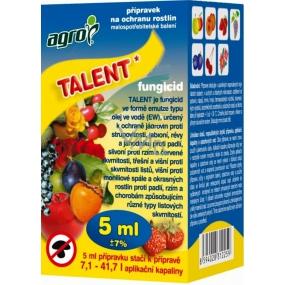 Agro Talent přípravek proti plísním na ochranu rostlin 5 ml