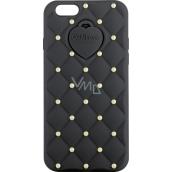 Ops! Objects Matelassé Crystal Cover iPhone 5 kryt na mobil OPSCOVI5-21 černá