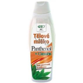 Bione Cosmetics Panthenol + Cannabis tělové mléko 500 ml