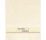 Albi Ručník Nejmilejší babička béžová 90 cm × 50 cm