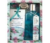 Bohemia Gifts & Cosmetics Aqua Minerály Magneziová sůl a extrakt z mořské řasy Sprchový gel 200 ml + koupelová sůl 150 g kosmetická sada