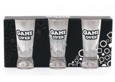 Albi Můj Bar Pánská sada panáků Game Over 3 kusy x 35 ml