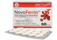 Barnys NovoFerrin zdroj unikátní formy liposomálního železa a vitaminu C a D. 30 kapslí