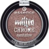 Essence Melted Chrome Eyeshadow oční stíny 07 Warm Bronze 2 g