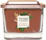 Yankee Candle Sweet Orange Spice - Sladký pomeranč a koření sojová vonná svíčka Elevation střední sklo 3 knoty 347 g