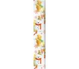 Ditipo Vánoční balicí papír pro děti bílý medvěd na stoličce 100 x 70 cm 2 kusy