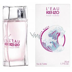 Kenzo L Eau Kenzo Pour Femme Hyper Wave toaletní voda pro ženy 50 ml