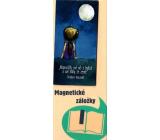 Albi Magnetická záložka do knížky Dívá se na hvězdy 8,7 x 4,4 cm