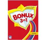 Bonux Color 3v1 prací prášek na barevné prádlo 4 dávky 0,3 kg