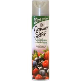 FlowerShop Mixed Berries osvěžovač vzduchu 330 ml