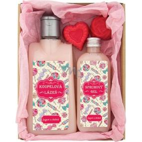Bohemia Pro maminku koupelová lázeň 200 ml + sprchový gel 100 ml + ručně vyráběné mýdlo 2 x 30 g, kosmetická sada