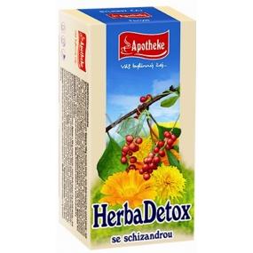 Apotheke HerbaDetox se schizandrou čaj 20 x 1,5 g