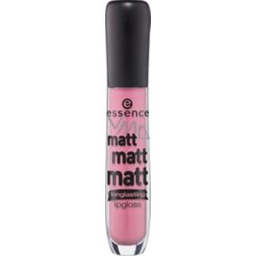 Essence Matt Matt Matt Lipgloss lesk na rty 01 La Vie Est Belle 5 ml