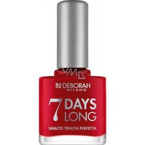 Deborah Milano 7 Days Long Nail Enamel lak na nehty 876 11 ml