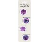 Albi Magnetické minizáložky Květy 4 kusy