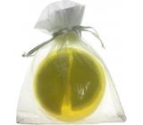 Fragrant Glycerinové mýdlo v jemné organze Fruit Lemon 140 g