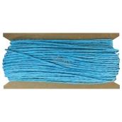 Provázek papírový modrý 30 m