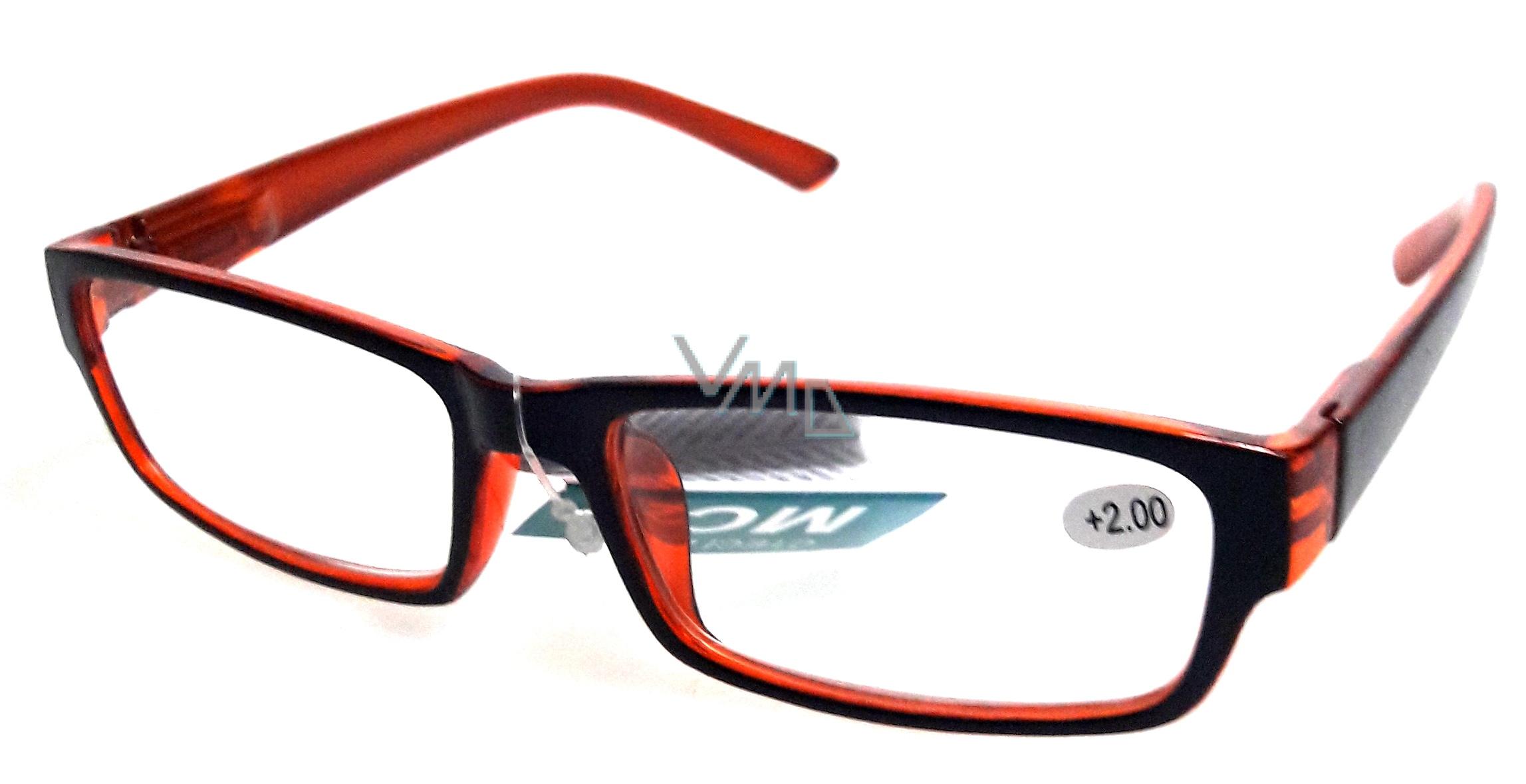 Gläser Dioplast + 2,5 schwarz MC2062