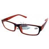 Berkeley Čtecí dioptrické brýle +2,50 plast černo oranžové 1 kus MC2062