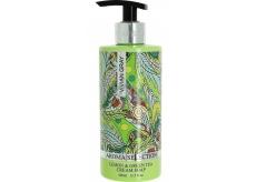 Vivian Gray Aroma Selection Lemon & Green Tea luxusní tekuté mýdlo s dávkovačem 400 ml