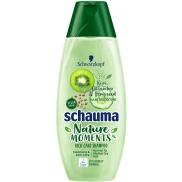 Schauma Nature Moments Hair Smoothie Kiwi, okurka a konopná semínka šampon na normální až suché vlasy 400 ml